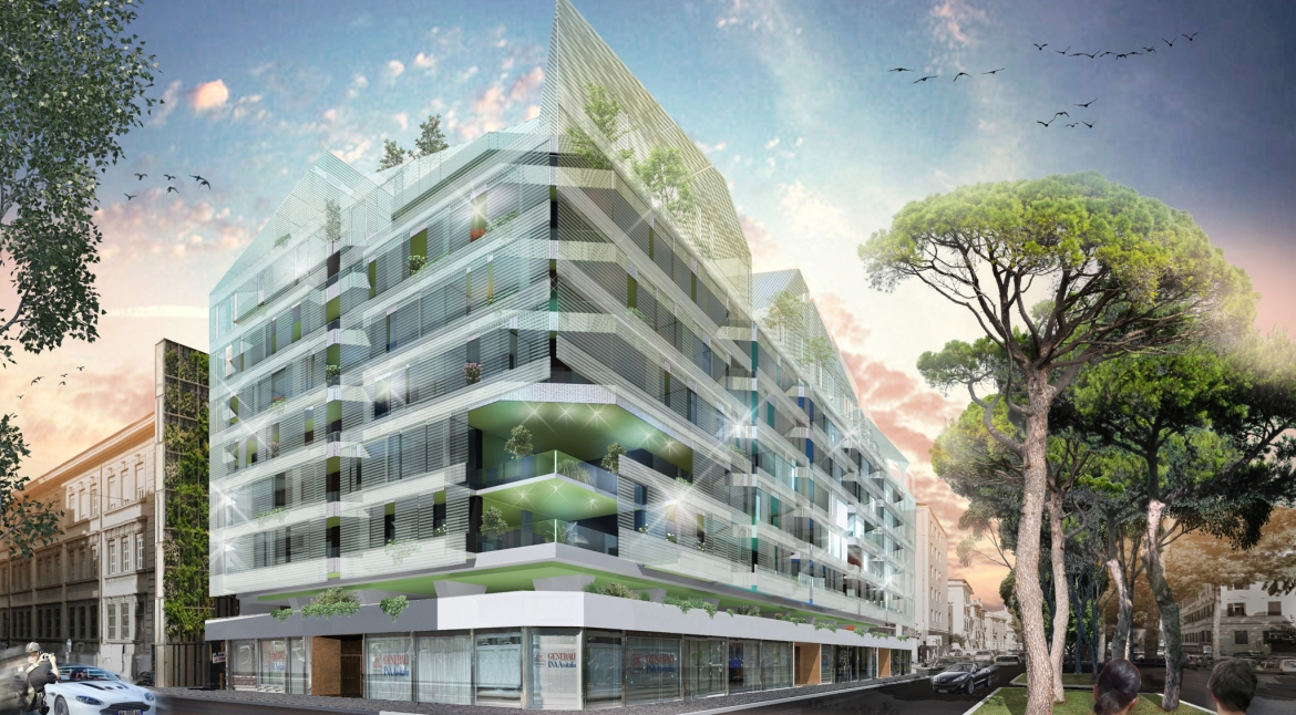 Redevelopment of residential property Via Alessandria