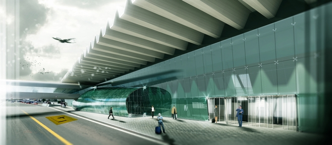FIUMICINO AIRPORT, RENOVATION OF TERMINAL 3, ROME