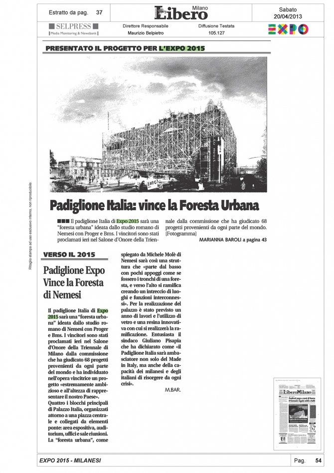 Libero Quotidiano ed. Milano