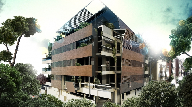 VIA OMBONI RESIDENTIAL COMPLEX, ROME