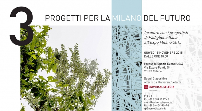 Three projects for the Milan of the future