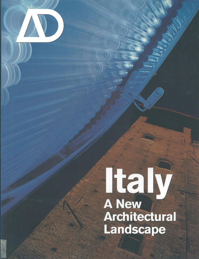 AD Architectural Design, Young Romans