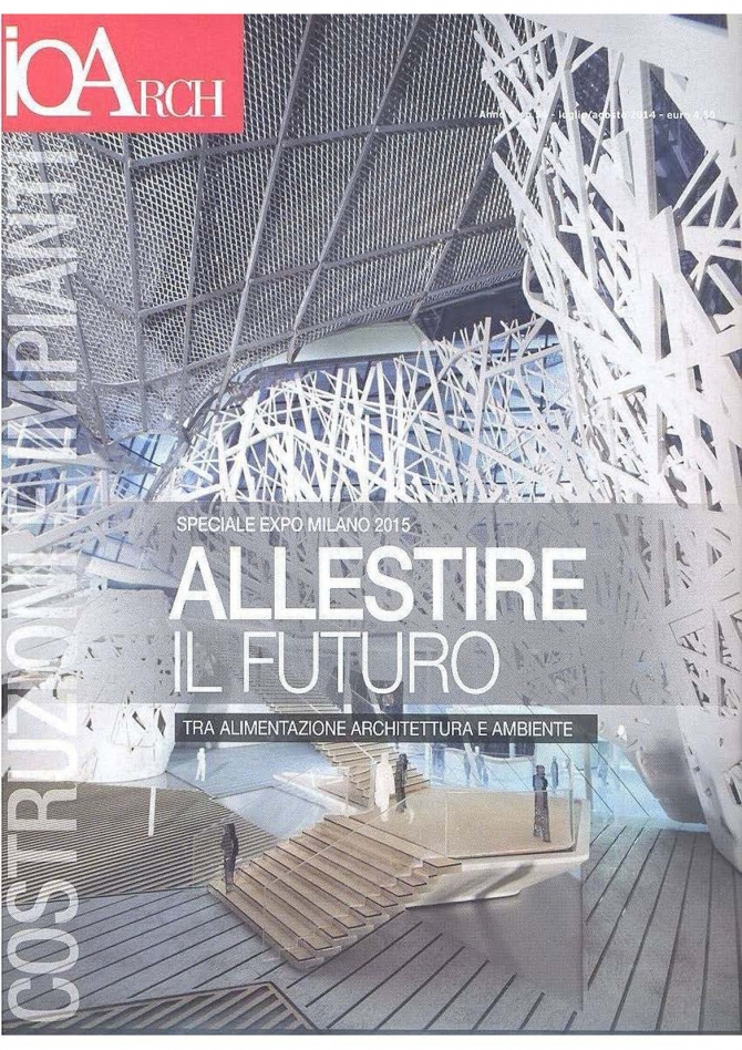 IoArch, July-August 2014, n.54, cover