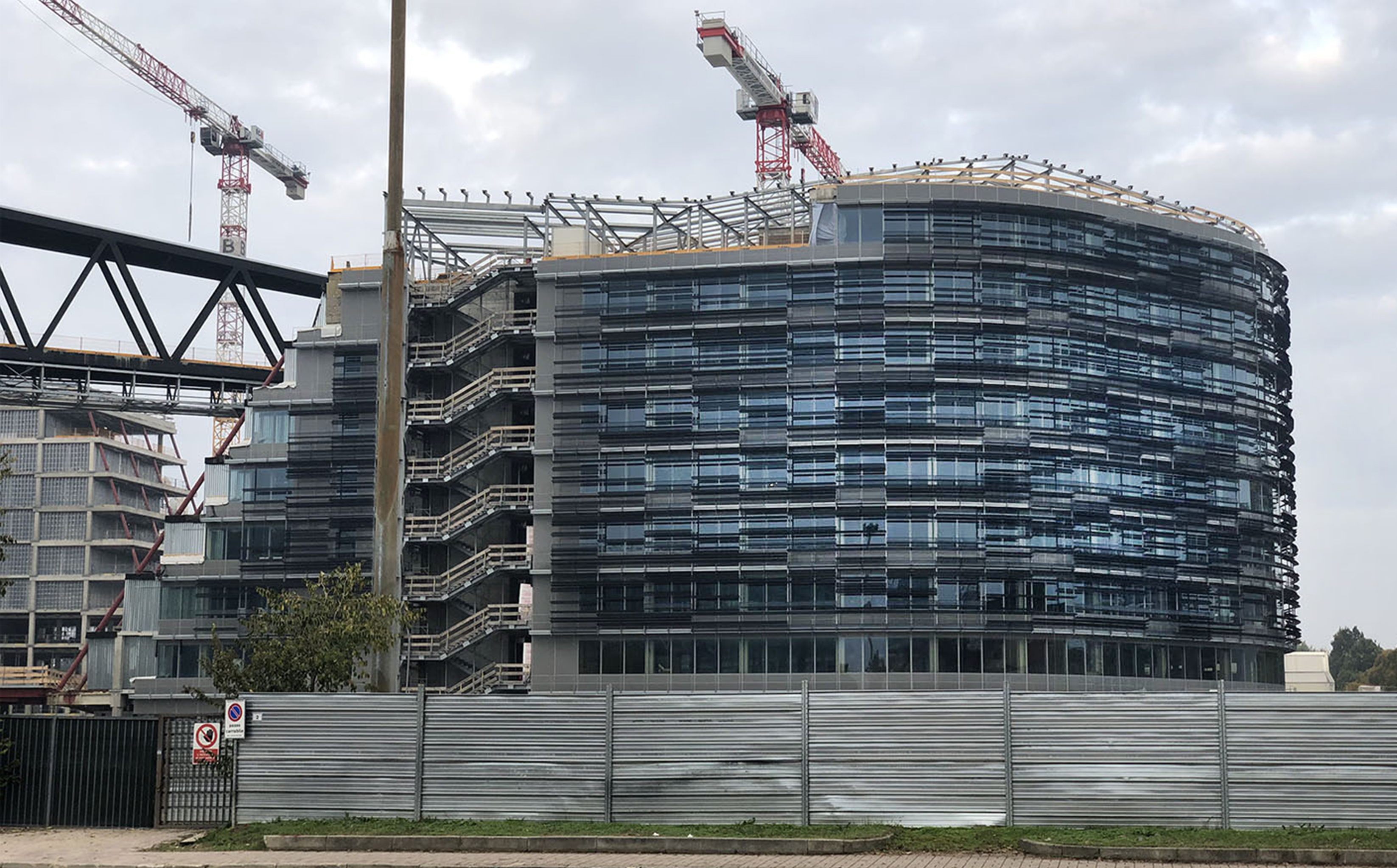 UNDER CONSTRUCTION 2020: NEW HEADQUARTER ENI